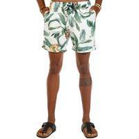 Shorts Docthos Estampa Exclusiva Bananeiras E Abacaxi Concept Shorts Docthos Estampa Exclusiva Bananeiras E Abacaxi Concept 005 Bege P