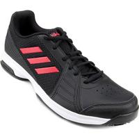 Tênis Adidas Approach Masculino - Masculino-Preto+Vermelho
