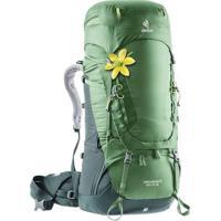 Mochila Cargueira Deuter Aircontact 60+10 Sl 2019 Para Trekking - Unissex-Verde