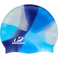 79ed83bb8 Netshoes  Touca De Silicone Hammerhead Multicor   Marinho-Azul Royal-Azul  Gelo   Infantil -