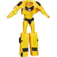 Boneco Transformers - Titan Changers - Robots In Disguise - Bumblebee - Hasbro - Masculino-Incolor