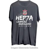 Camiseta Corinthians Hepta Campeão Masculina - Masculino