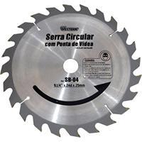 Serra Circular Com Ponta De Vídea 9.1/4 Pol