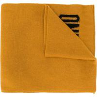 Moschino Cachecol De Tricô - Amarelo