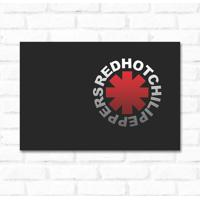 Placa Decorativa Red Hot Chilli Peppers