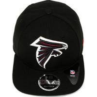 Boné New Era Snapback Atlanta Falcons Preto ca7a5269609