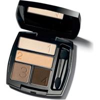 Quarteto De Sombra Para Olhos True Color 5G - Clas - Feminino-Incolor