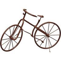 Bicicleta Decorativa Classic Marrom