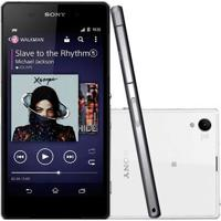 "Smartphone Sony Xperia Z2 D6543 Branco - 4G Lte - 16Gb - Ram 3Gb - Hd 5.2"" - 20.7Mp - Tv Digital - Android 4.4"