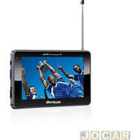 """Gps (Navegador) - Multilaser - Tracker 2 - Tela 4,3"""" Com Tv/Fm - Usb/Wma - Cada (Unidade) - Gp034"""