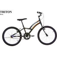 Bicicleta Aro 20 Triton Houston Preto
