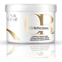 Máscara Oil Reflections Wella Potenciadora De Luminosidade 500Ml - Unissex-Incolor