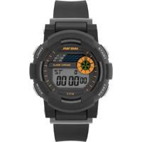 Relógio Mormaii Nxt - Unissex-Preto