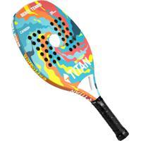 Raquete De Beach Tennis Titan Explosion Carbon 25Mm - Unissex