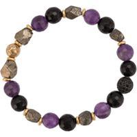 Nialaya Jewelry Pulseira Com Aplicações - Verde