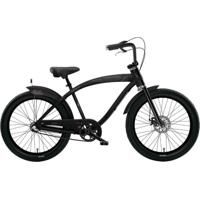 Bicicleta Nirve Skulls - Aro 26 - 3 Marchas Preto
