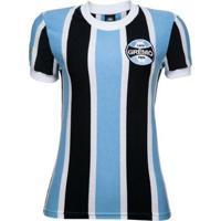 Camisa Retrô Grêmio 1972 Feminina - Feminino
