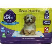Tapete Higiênico Pró Canine Pads Super Premium 30 Uninidades