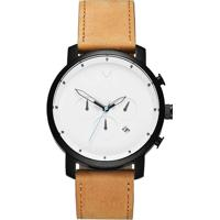 Relógio Mvmt Masculino Couro Marrom - D-Mc01-Wbtl