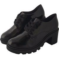 Sapato Oxford Preto Bebecê Multicolorido