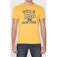 Camiseta Polo Ralph Lauren New York Amarela