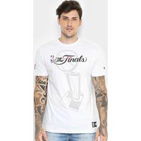 Camiseta Nba Cleveland Cavaliers New Era Tropy Masculina - Masculino-Branco