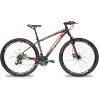 Bicicleta Aro 29 Rino Atacama Freio A Disco - Cambios Shimano 24V - Unissex