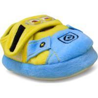 Pantufa Masc Infantil Ricsen 20261 Flat Minions 2017 Amarelo/Azul
