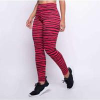 Legging Fitness Jacquard Line Rosa Lg1406 Rosa
