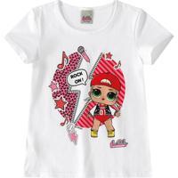 Blusa L.O.L.® Menina Malwee Kids
