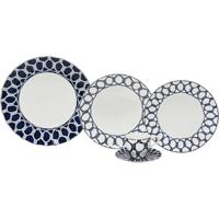 Aparelho De Jantar Porcelana 30 Peças Nexus Navy - Unissex