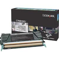 Cartucho Toner Lexmark C748 Preto 12K