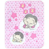 Cobertor Bebê Feminino Rosa Mônica E Magali Baby - Turma Da Mônica - Tamanho Único - Rosa