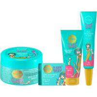 Kit Cleo'S Secret Creme Esfoliante Pés + Creme Para Cutículas + Óleo Fortalecedor De Unhas + Manteiga Hidratante Para Pés
