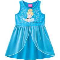 Vestido Cinderela®- Azul & Prateado- Primeiros Passobrandili