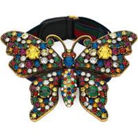 Gucci Bracelete De Borboleta Com Aplicações - Estampado