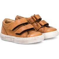 Pépé Kids Touch Fastening Sneakers - Marrom