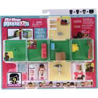 Playset E Mini Figura Surpresa - My Mini Mixieq'S - Cubo Fazendinha - Mattel - Feminino-Incolor