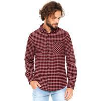 Camisa Cavalera Xadrez Freddy Vermelha
