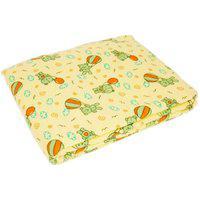 Cobertor Estampado Sortido Amarelo 90X1,10M Carícia Ref.1614 - Minasrey