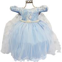 Vestido Infantil Tema Frozen