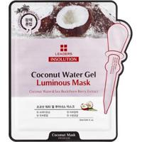 Máscara Facial Leaders - Insolution Coconut Water Gel Luminous 1 Un - Unissex