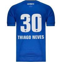 Camisa Umbro Cruzeiro Nº30 Thiago Neves I 2018 Masculina - Masculino
