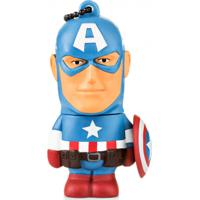 Pendrive Marvel Vingadores Capitão America 8Gb Multilaser