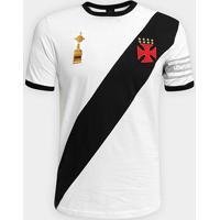 Camiseta Vasco Capitães Libertadores 1998 N° 4 Masculina - Masculino