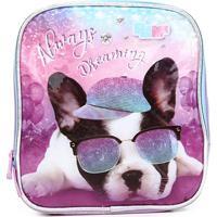 Lancheira Escolar Infantil Pacific Pak Me Puppy Dog - Masculino-Azul
