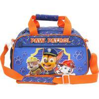 Mini Sacola Infantil Patrulha Canina Team Work Azul 7997