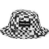 Chapéu Bucket Cavalera Geométrico Branco/Preto