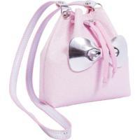 Bolsa Infantil Princesa Pink Bucket Glitter Rosa Bebe Rosa