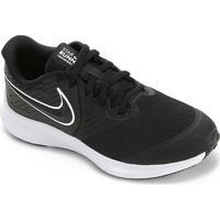 Tênis Infantil Nike Star Runner 2 Gs - Masculino-Preto+Branco